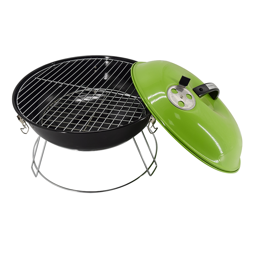 Longzhao BBQ round metal bbq charcoal grills on sale bulk supply for barbecue-4