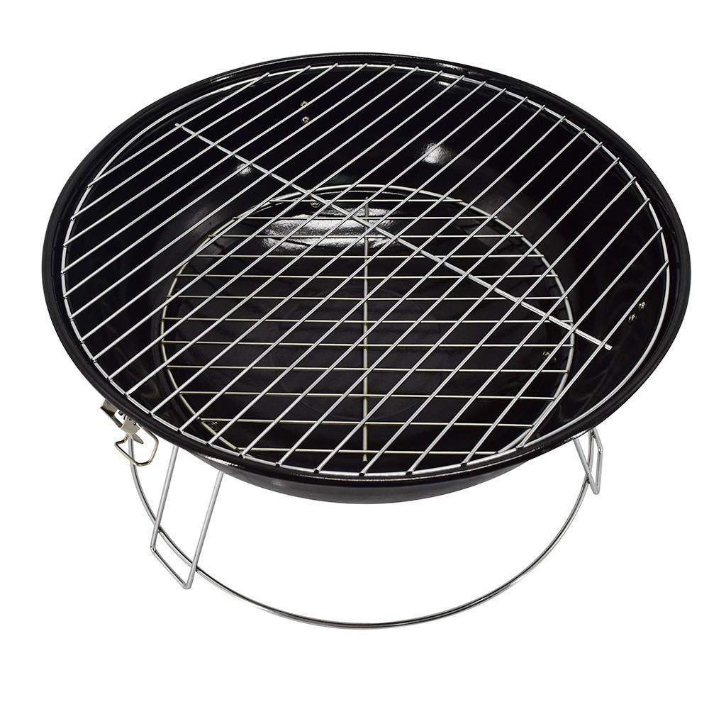 Longzhao BBQ round metal bbq charcoal grills on sale bulk supply for barbecue-3