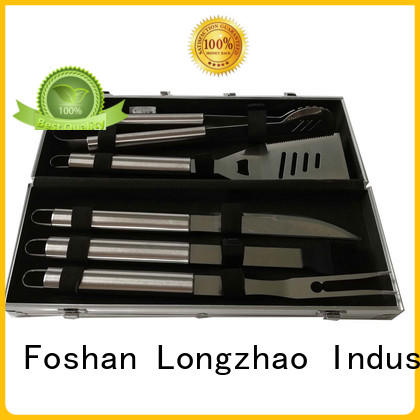 hot selling folding grill basket wholesale Longzhao BBQ company