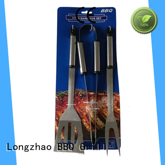 Longzhao BBQ best fish grilling basket free sample for charcoal grill
