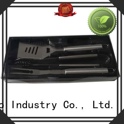 box bbq fish grill basket wooden for barbecue Longzhao BBQ