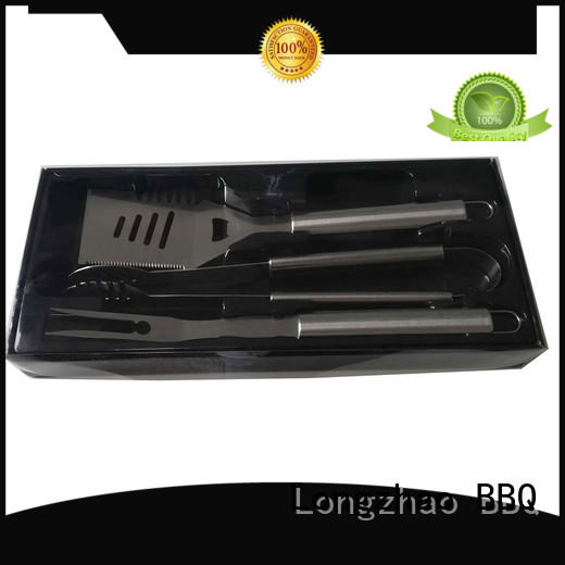 grill tool sets custom for outdoor camping Longzhao BBQ