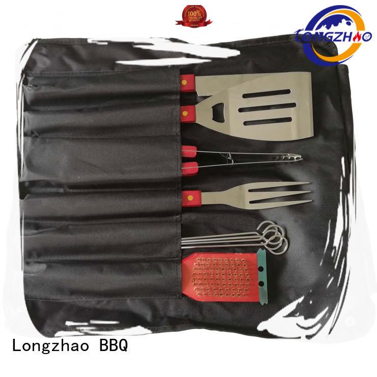 Longzhao BBQ Brand eco-friendly low price custom folding grillbasket