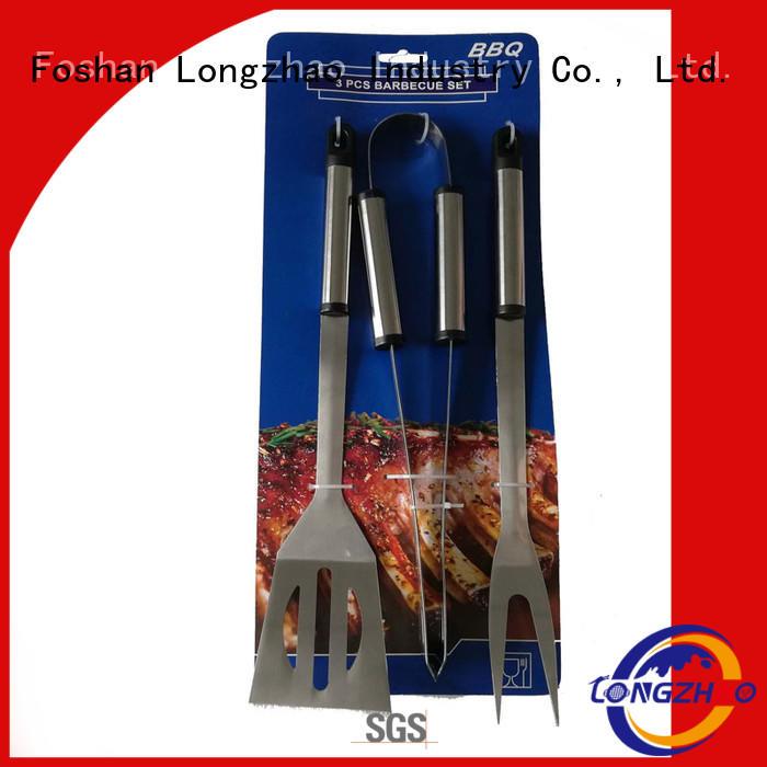 Custom professional side liquid gas grill Longzhao BBQ bbq