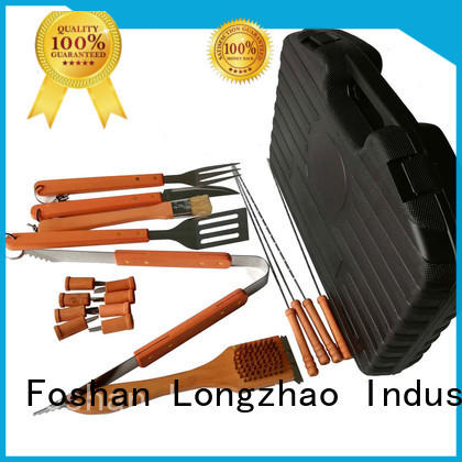 Longzhao BBQ Brand folding manufacturer direct selling outdoor custom folding grill basket