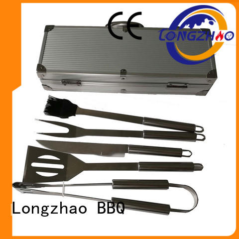 hot selling Custom wholesale liquid gas grill outdoor Longzhao BBQ