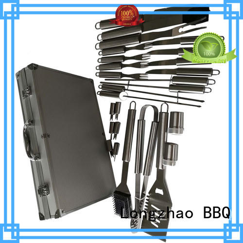 heat resistance grill basket best factory price for charcoal grill Longzhao BBQ