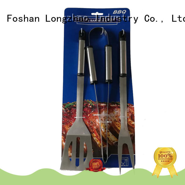 pvc barbecue tool set factory price Longzhao BBQ