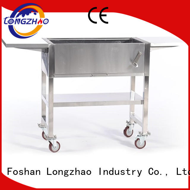 Longzhao BBQ charcoal bbq grill sale factory direct supply for outdoor bbq
