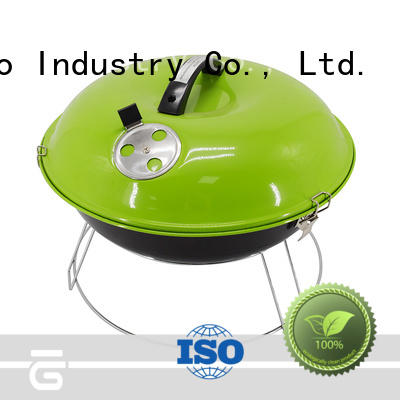wood small charcoal grill for barbecue Longzhao BBQ