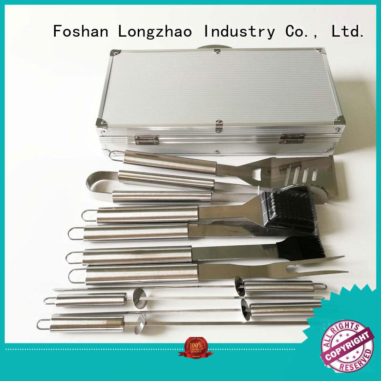 bbq grill tool set for barbecue Longzhao BBQ