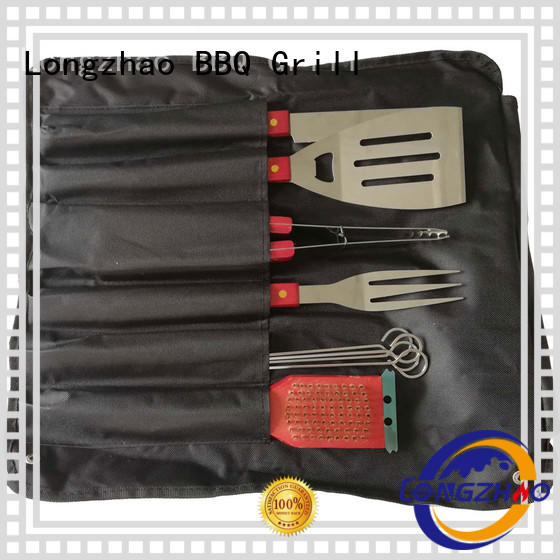 Longzhao BBQ bbq grill set hot-sale for outdoor camping