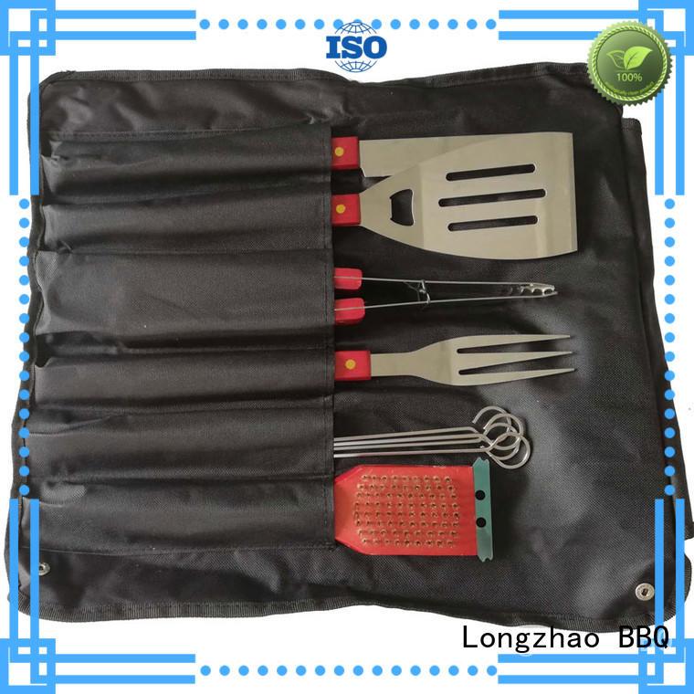 Longzhao BBQ Brand hot selling professional portable bbq bbq grill basket
