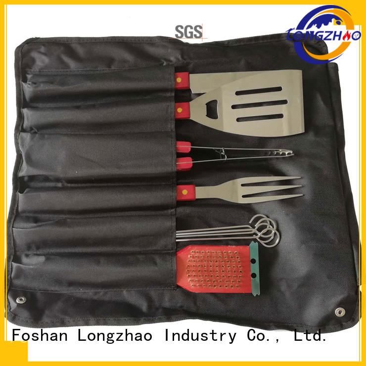 bbq grill basket best quality for gas grill Longzhao BBQ