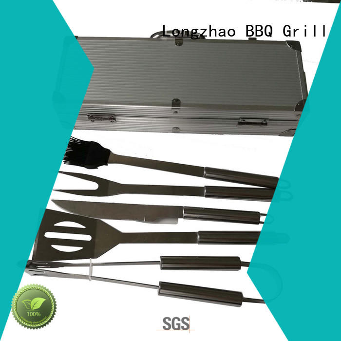 Longzhao BBQ grill tool sets best price for charcoal grill