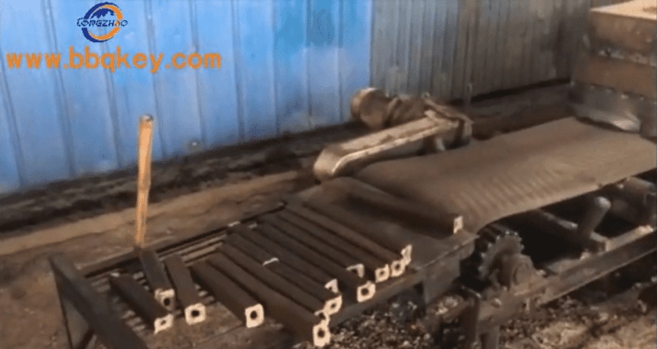 sawdust charcoal production process