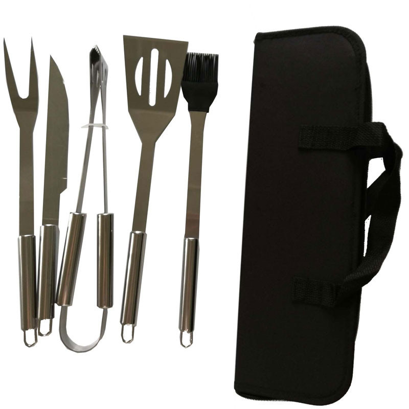 portable bbq tool set customfor charcoal grill-5