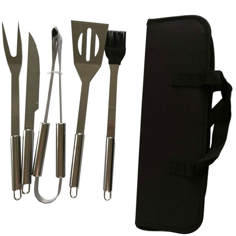 portable bbq tool set customfor charcoal grill