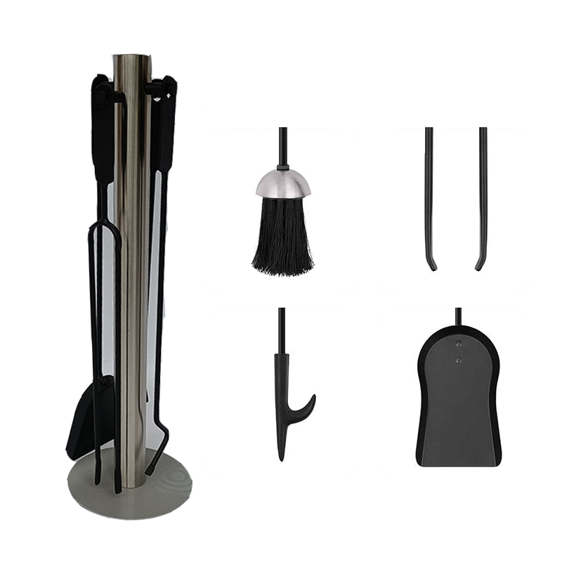 Modern Vintage Fireplace Companion Tool Set For Indoor Use - FT014