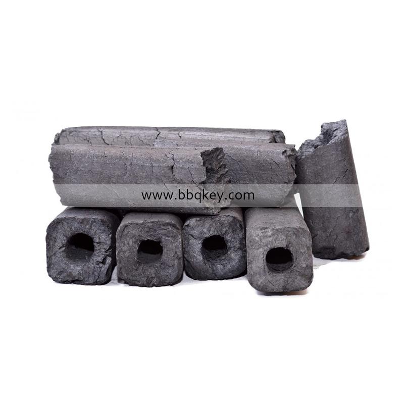 Best Selling Powder Machine Made Quadrangle Square Sawdust Charcoal For BBQ