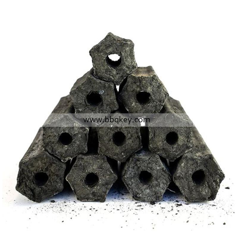 Hexagonal and quadrangle shape charcoal making, machine made charcoal