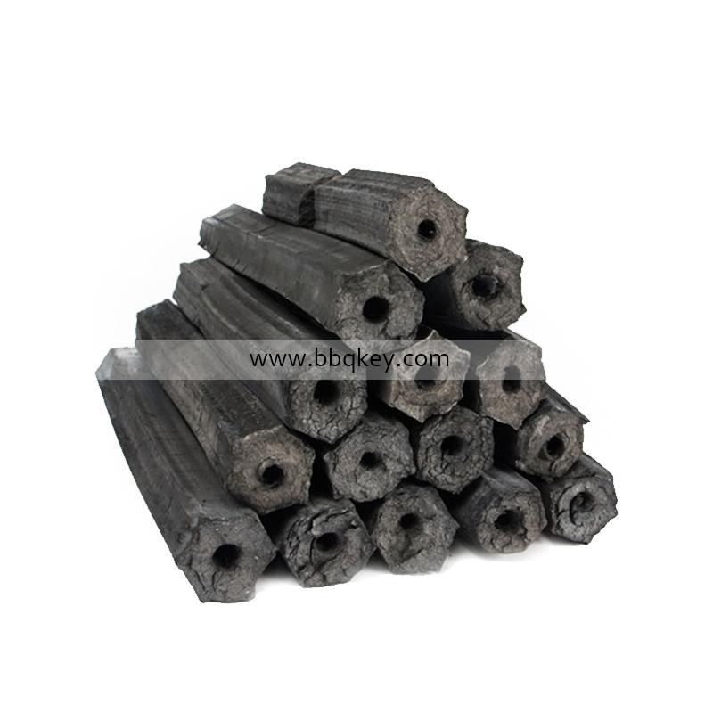 Low Ash Square Barbecue Sawdust Charcoal Briquettes