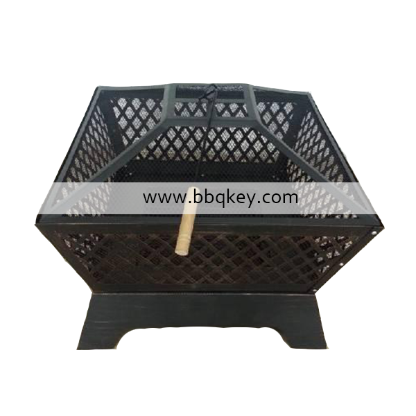 Outdoor stainless steel heavy duty fire pits