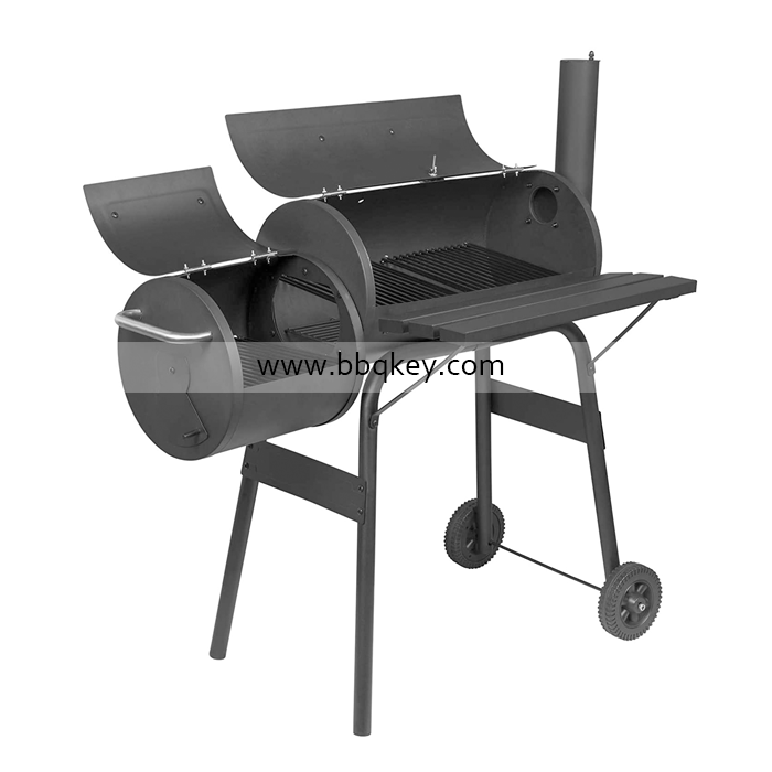 Freestanding Barbecue Grill Outdoor Garden Picnic Camping Party Patio Charcoal BBQ Grill Smoker Barbecue
