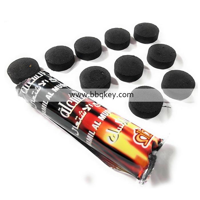 Round Coconut Shisha Wood Charcoal Hookah Shisha Charcoal For Wholesales