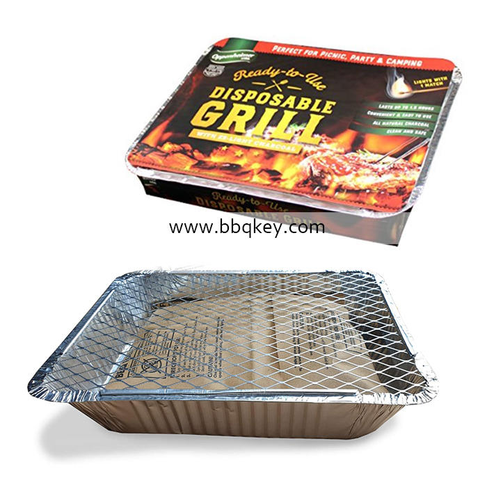 High Quantity One-used Instant Disposable Barbecue Grill BBQ