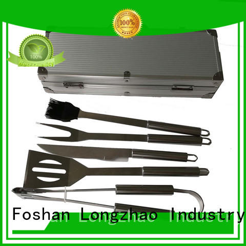 Longzhao BBQ easily cleaned bbq grill tool set order now for barbecue
