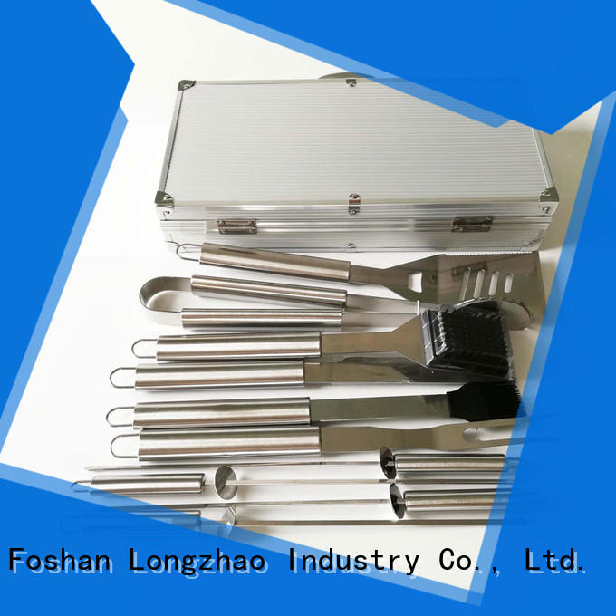 Longzhao BBQ folding bbq grill tool set for gas grill