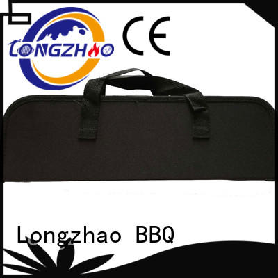 outdoor side high quality low price Longzhao BBQ Brand liquid gas grill supplier