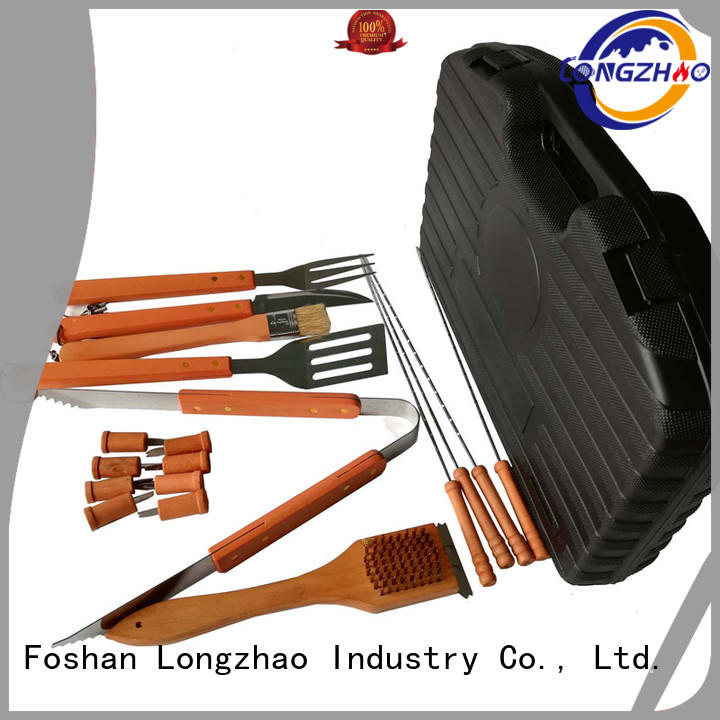 Wholesale wholesale gas barbecue bbq grill 4+1 burner tables Longzhao BBQ Brand