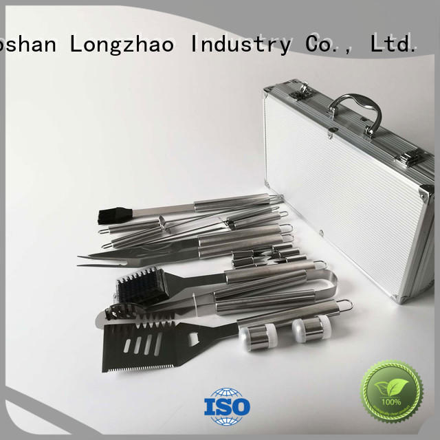 Longzhao BBQ grill tools set custom for barbecue