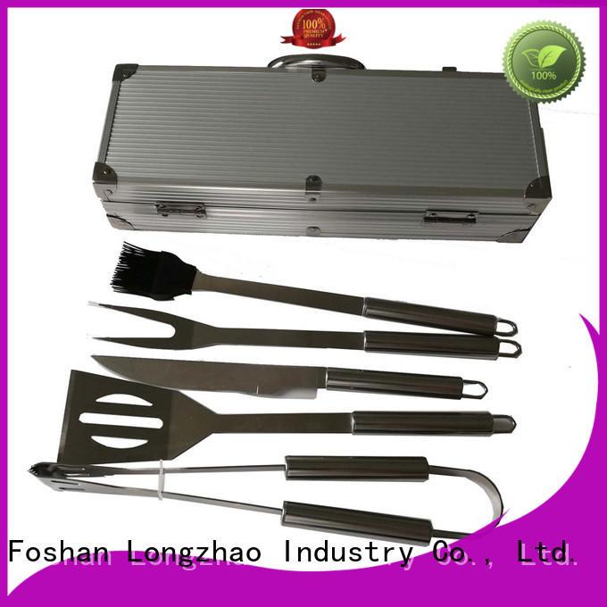 bbq professional folding grillbasket Longzhao BBQ manufacture