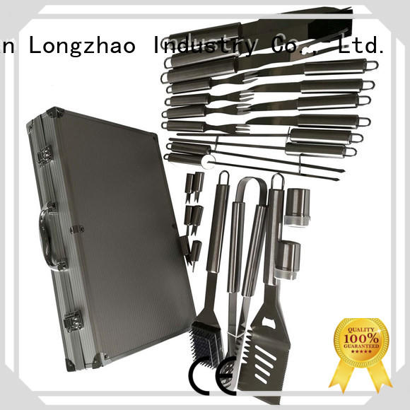 tables low price professional grill Longzhao BBQ Brand bbq grill basket supplier