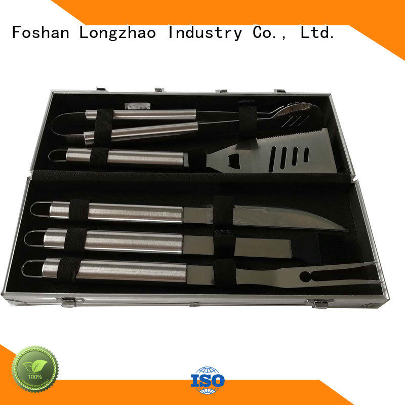 gas bbq grill basket hot sale Longzhao BBQ company