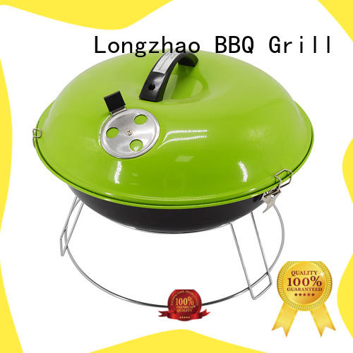 Longzhao BBQ charcoal bbq pits high quality for camping