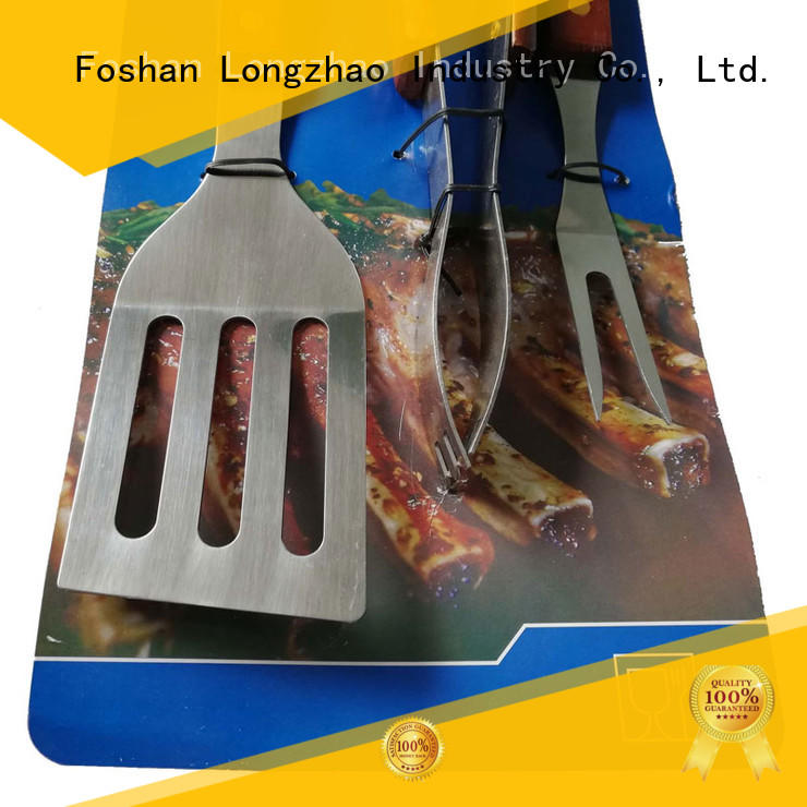 folding grill basket professional eco-friendly factory direct Longzhao BBQ Brand