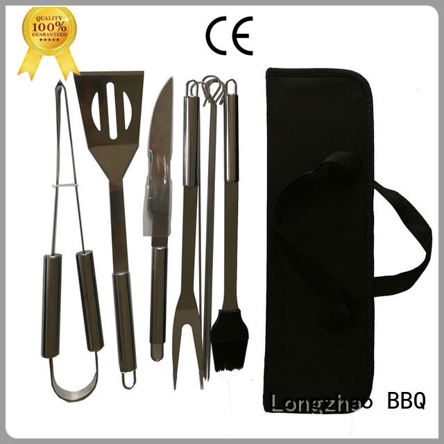Longzhao BBQ Brand wholesale high quality bbq folding grill basket