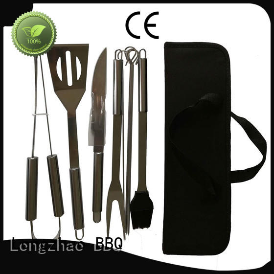 high quality outdoor Longzhao BBQ Brand bbq grill basket