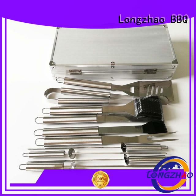 Hot bbq grill basket wholesale Longzhao BBQ Brand