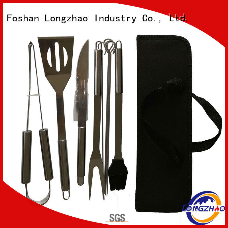 Wholesale professional gas barbecue bbq grill 4+1 burner gas Longzhao BBQ Brand