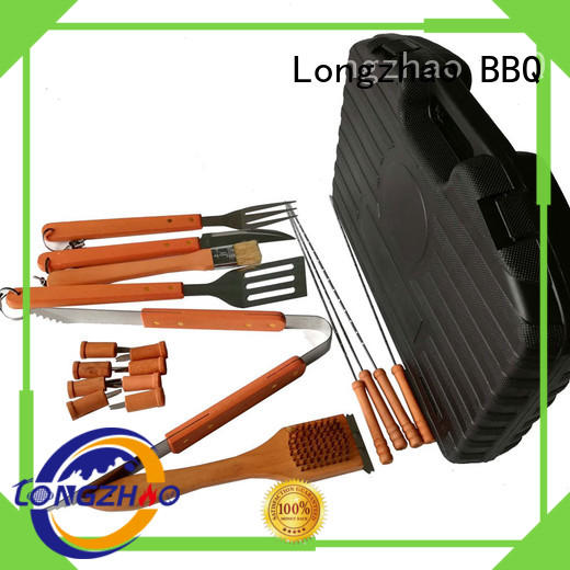 stainless steel grill basket australia best quality for charcoal grill Longzhao BBQ