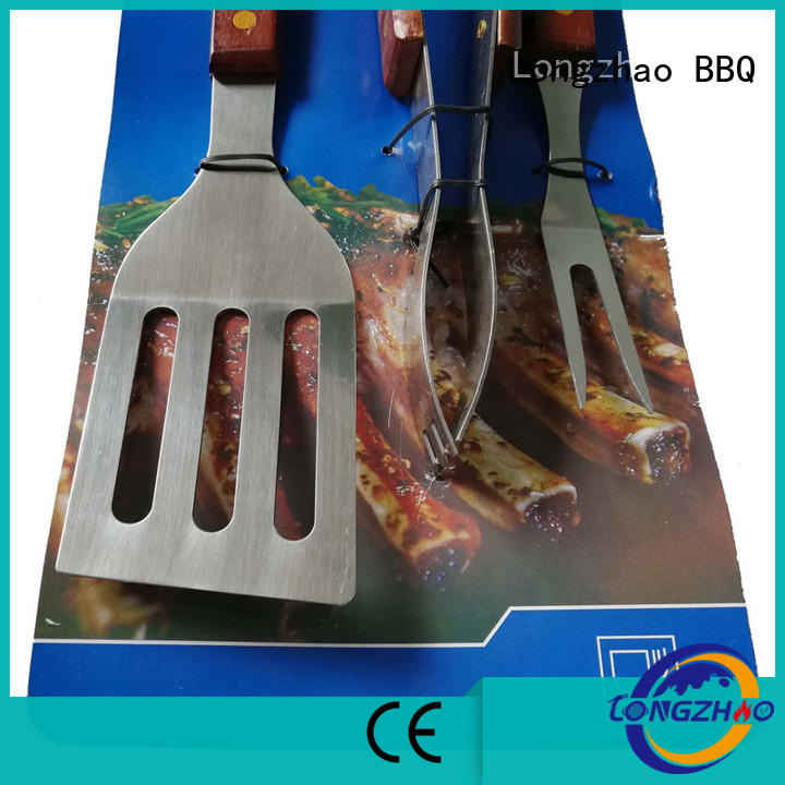 gas hot sale gas barbecue bbq grill 4+1 burner Longzhao BBQ Brand