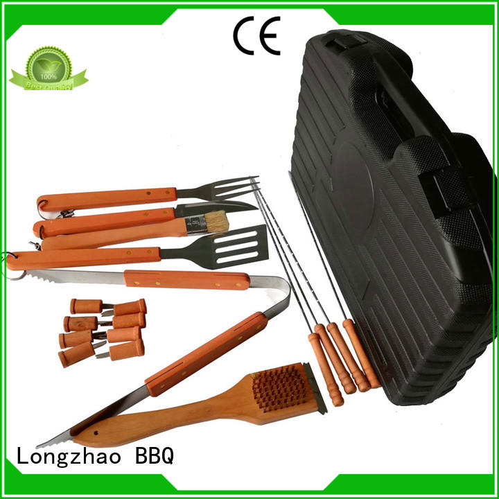 portable Custom outdoor bbq grill basket hot selling Longzhao BBQ