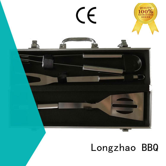 folding grill basket for outdoor camping Longzhao BBQ