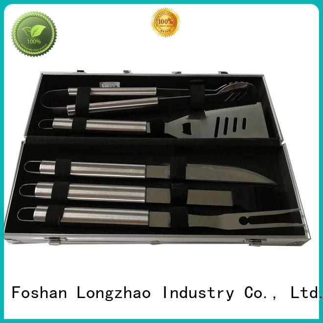 Longzhao BBQ grill basket best by bulk for outdoor camping