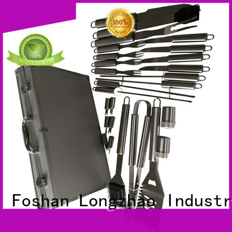 Longzhao BBQ bbq tool set hot-sale for barbecue